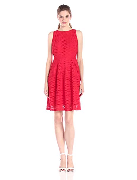 Julian Taylor Women's Halter-Neck A-Line Dress