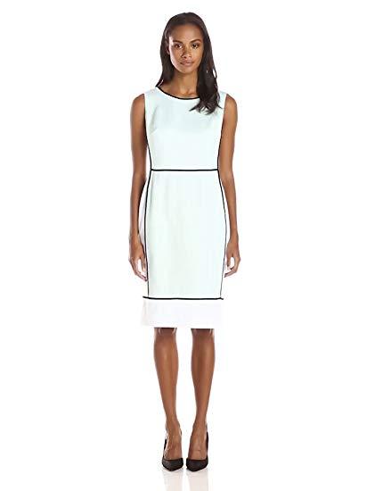 Jones New York Women's Color-Block Sheath Dress