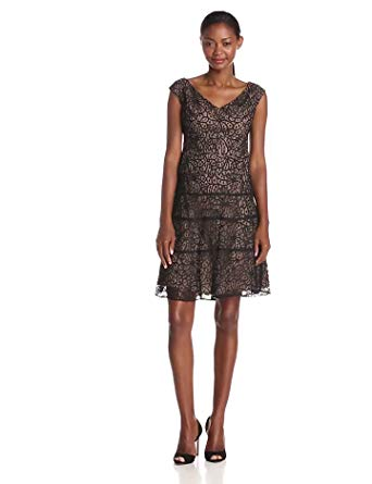 Anne Klein Women's Lace Swing Dress